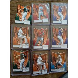 Leather and Lumber Baseball Cards Lot with stars Bumgarner