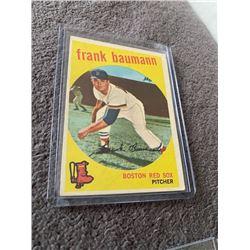Frank Baumann 1959 topps