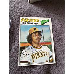 John Candelaria 1977 Topps