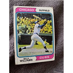 Billy Williams 1974 topps