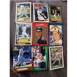 Cal Ripken Jr 9 Card Lot