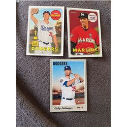 Cody Bellinger Heritage all star rookie lot plus Christian Yelich