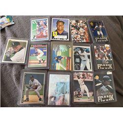 13 Card Frank Thomas Lot
