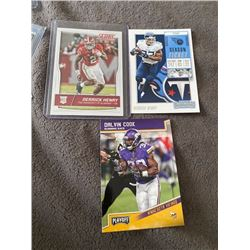 Derrick Henry Score RC, Dalvin Cook Playoff RC