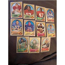 1970 Topps 11 Card Lot