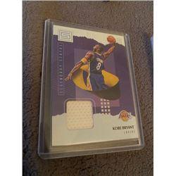 Kobe Bryant Status Jersey card