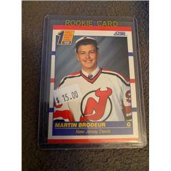 Martin Brodeur 1990 Score RC