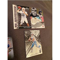 Mitch Trubisky 3 card lot