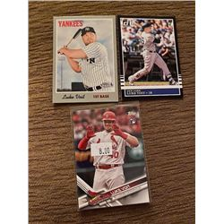 Luke Voit Lot with Topps RC