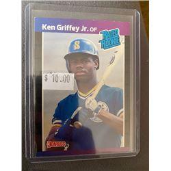 Ken Griffey Jr 1989 donruss rc