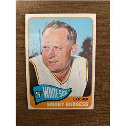 Smoky Burgess 1965 topps