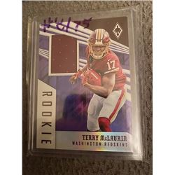 Terry Mclaurin jersey card