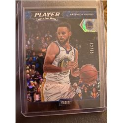 Steph Curry Panini Player of the Day SP /75