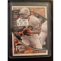 Bob Griese UD football Heroes 35 made