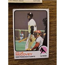 Willie Mccovey 1973 topps
