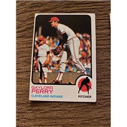 Gaylord Perry 1973 topps