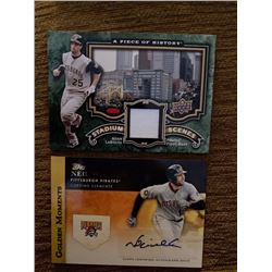 Adam Laroache jersey Neil Walker auto lot