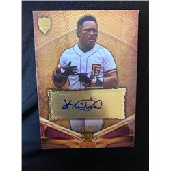 Kevin Mitchell Topps supreme Auto 25 made