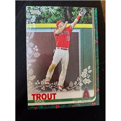 Mike Trout Topps Holiday
