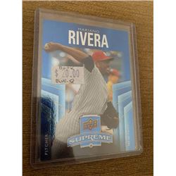 Mariano Rivera Upper deck Supreme