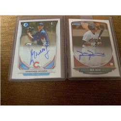Armando Rivero and Rio Ruiz Bowman chrome auto