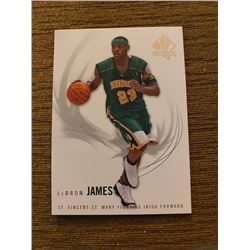 Lebron James SP Authentic