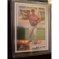 Jose Altuve Bowman Chrome RC