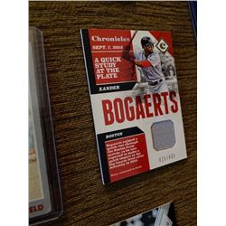 Xander Bogaerts Chronicles Jersey card