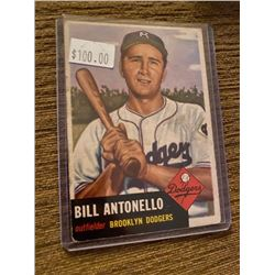 1953 Topps Set Break #272 Bill Antonello