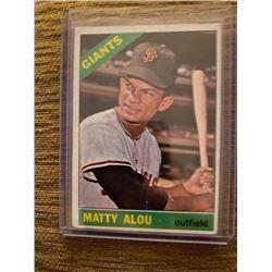 Matty Alou 1966 Topps