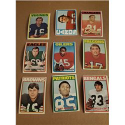 9 Card Football Lot