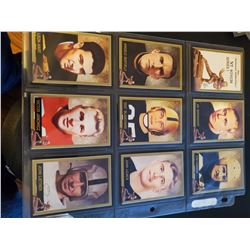 9 Card Vintage Football Lot