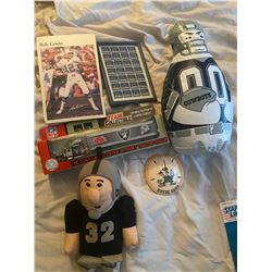 Asorted Foot ball Collectables