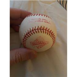 Official 1992 World Series ball