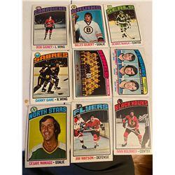 Vintage hocky Cards