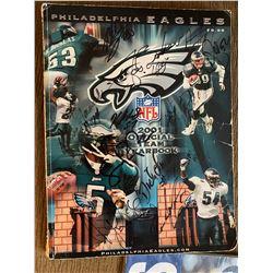 2001 Eagles team book