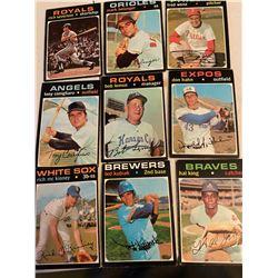 Vintage base ball cards