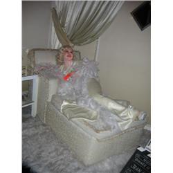The Little Platinum Blonde  JEAN HARLOW wax figure the