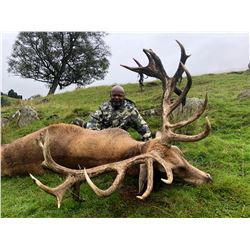 Scotland Red Stag Hunt by International Adventures Unlimited