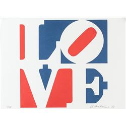 "Robert Indiana American Lithograph ""LOVE"""