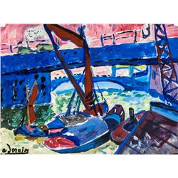 Andre Derain French Fauvist Gouache on Paper