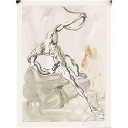 Salvador Dali Spanish Surrealist Signed Lithograph