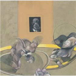 Francis Bacon British Signed Lithograph 11/100
