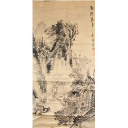 18th Century Chinese Watercolor on Paper