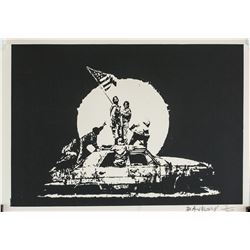 """Banksy British Pop Signed Lithograph 3/350 """"67"""""""