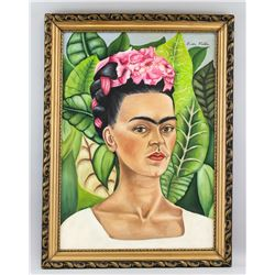 Frida Kahlo Mexican Surrealist OOC Self-Portrait