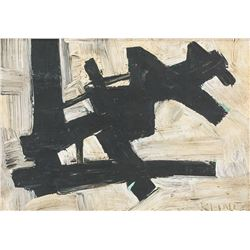 Franz Kline US Abstract Oil HAUSER&ORCHARD Gallery