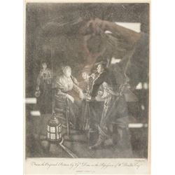 William Baillie 1613-1675 Irish Signed Etching1774