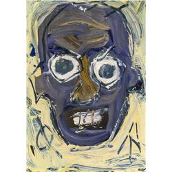 Jean-Michel Basquiat Mixed Media on Paper