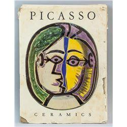 Picasso Ceramics Book w/Detachable Ceramic Prints